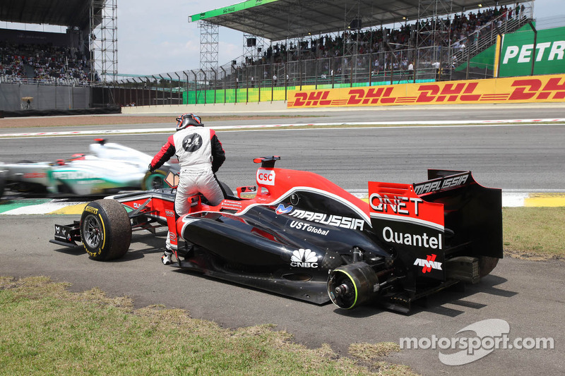 Timo Glock, Marussia Virgin Racing retired from the race