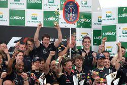 Red Bull Racing viert
