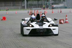 VIPs track test