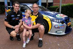 Shane Van Gisbergen visits the Children's Hospital at Westmead