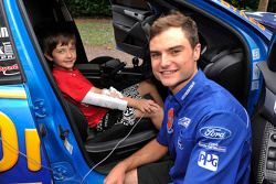 Tim Slade visits the Children's Hospital at Westmead