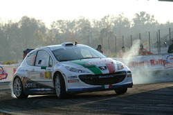 Paolo Andreucci en Anna Andreussi - Peugeot 207 S2000