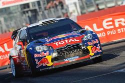 Sébastien Loeb en Severine Loeb