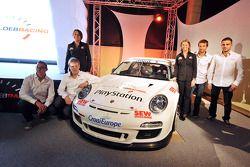 Sébastien Loeb presents his team Sébastien Loeb Racing