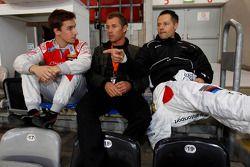 Filipe Albuquerque, Tom Kristensen y Andy Priaulx