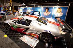Robertson Racing Doran Ford GT on display