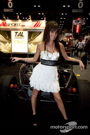 The charming TiAL Sport hostess