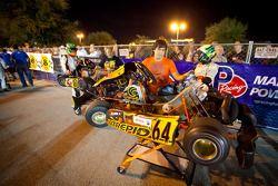 Teams en rijders klaar voor kwalificatierace