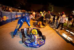 Qualifying race winner Bas Lammers