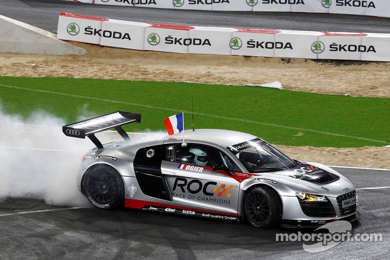 Campeón de la Race of Champions 2011: Sébastien Ogier