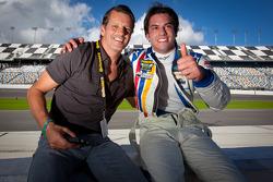 Oswaldo Negri and Felipe Nasr