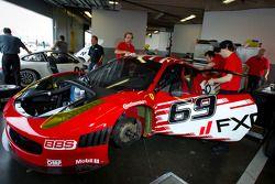 #69 AIM Autosport Ferrari 458
