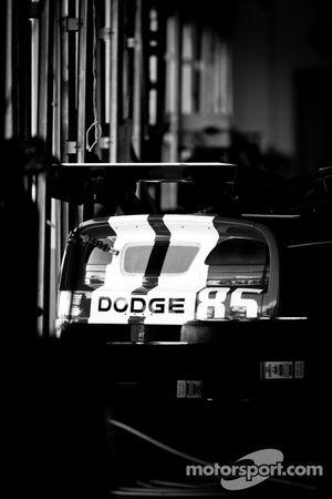 #85 Racers Edge Motorsports Dodge Viper in the garage