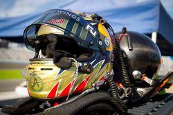 Helmet of Formula One driver Jaime Alguersuari