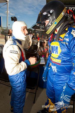 Rui Aguas and Michael Waltrip