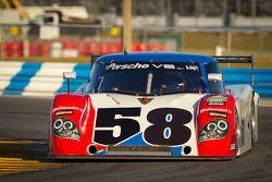 #58 Action Express Racing Porsche Riley: David Donohue, Darren Law, Felipe Nasr