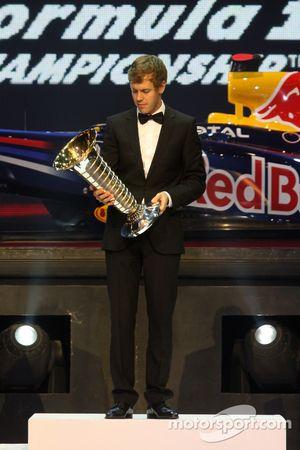 F1 kampioen Sebastian Vettel