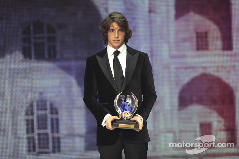 FIA F3 champion Roberto Merhi