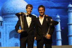 F1 champion Sebastian Vettel and WRC champion Sébastien Loeb