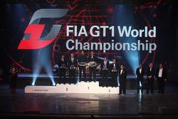 FIA-GT kampioenen Lucas Luhr en Michael Krumm