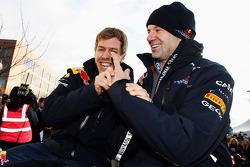 Sebastian Vettel ve Adrian Newey, Red Bull Racing