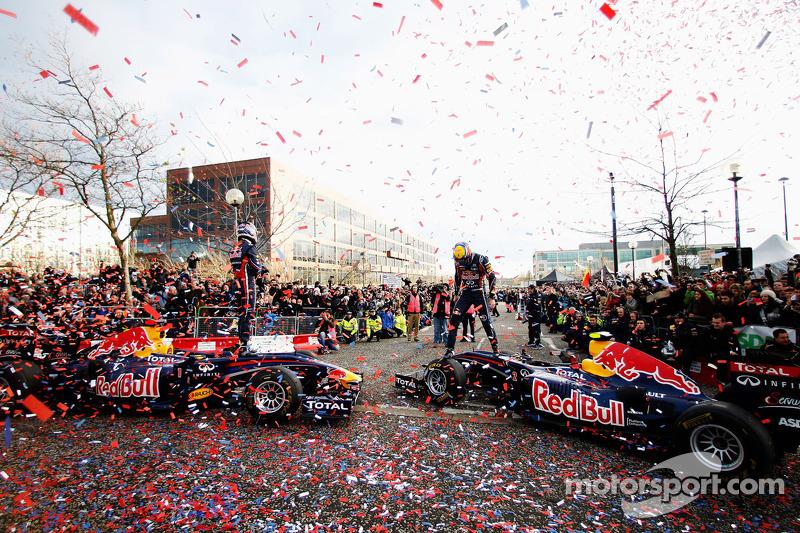 Mark Webber y Sebastian Vettel, Red Bull Racing