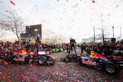 Mark Webber ve Sebastian Vettel, Red Bull Racing