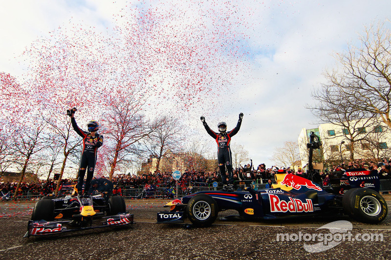 Mark Webber y Sebastian Vettel, Red Bull Racing