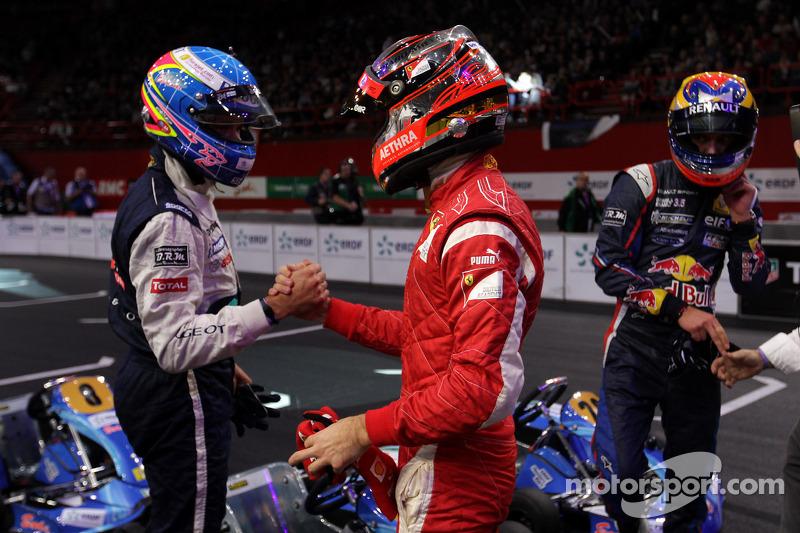 Winnaar Jules Bianchi, 3de Stéphane Sarrazin