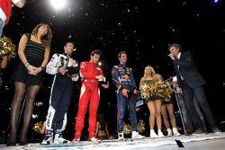 Winner Jules Bianchi, second place Jean-Eric Vergne, third place Stéphane Sarrazin