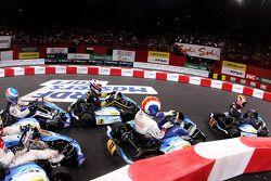 Start Race 2 Stars Final. Palais Omnisport de Paris-Bercy.