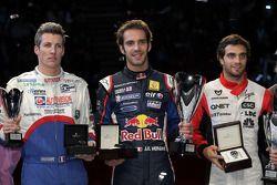 Winner Jean-Eric Vergne, second place Jérôme d'Ambrosio, third place Julien Jousse