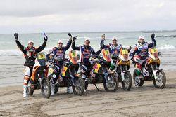 The KTM Factory team