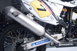 Husqvarna Dakar preparations