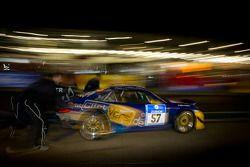 #57 Porsche 997 GT3 RSR: Kersten Jodexnis, Wolfgang Destrée