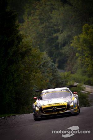 Black Falcon Mercedes-Benz SLS AMG GT3 : Andrii Lebed, Hannes Plesse, Maik Rosenberg