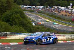 #116 Volkswagen Motorsport Volkswagen Scirocco: Ulrich Hackenberg, Bernd Ostmann, Peter Wyss, Vanina Ickx