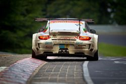 #26 Sponsorcard MSC Adenau e.V. Porsche 997 GT3 R: Klaus Abbelen, Sabine Schmitz, Niklas Kentenich,