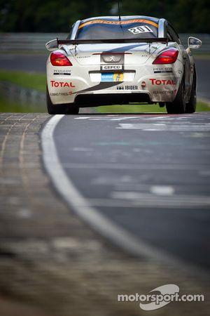#201 Team Peugeot RCZ Nokia Peugeot RCZ HDI: Michael Bohrer, Stéphane Caillet, Jürgen Nett