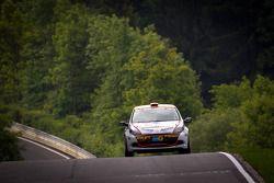 #164 Schlaug Motorsport Renault Clio RS: Xavier Lamadrid, Xavier Lamadrid Sr., Max Girardo, Mark Don