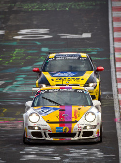 #51 Kremer Racing Porsche 911 Cup: Eberhard Baunach, Michael Kueke