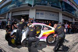 Pitstop #51 Kremer Racing Porsche 911 Cup: Eberhard Baunach, Michael Kueke
