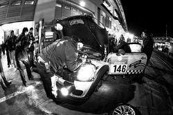 Pitstop #146 MINI Motorsport Mini Cooper: Hendrik Vieth, Ralf Martin, Jürgen Schmarl, Benjamin Leuch