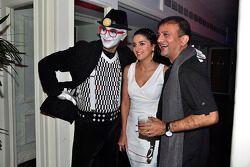 Fashion designer Prasad Bidapa and TV personality Shruti Seth