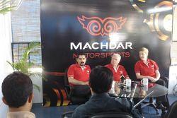 Darshan Machdar, CEO of Machdar Motorsports