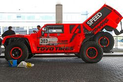 Robby Gordon en Johnny Campbell