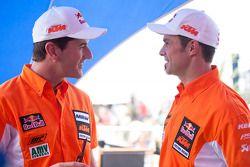 Marc Coma y Cyril Despres