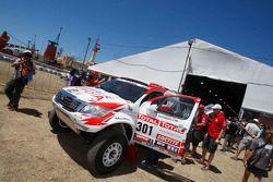 Toyota : Giniel de Villiers et Dirk Von Zitzewitz