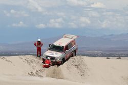#447 Toyota: Luis Barbery, Ezequiel Queralt, Zeballos Roca