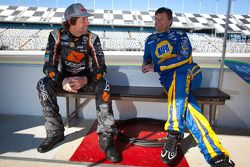 Travis Pastrana en Michael Waltrip
